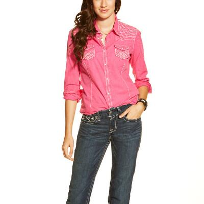 Rook Fitted Snap Ladies Western Shirt