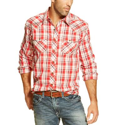 Carlos Retro Mens Western Shirt