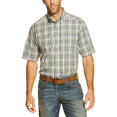 Ariat Garban Performance Short Sleeve Mens Western Shirt