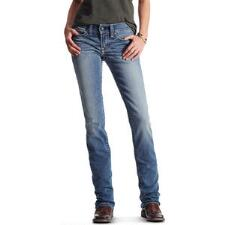 Ariat REAL Straight Icon Womens Riding Jean - TB