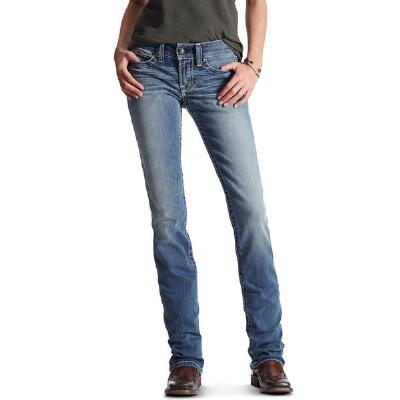 Ariat REAL Straight Icon Womens Riding Jean