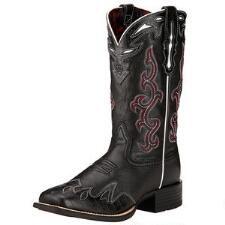 Ariat Sidekick Black Ladies Western Boot