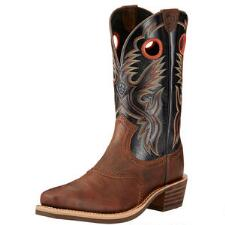 Heritage Roughstock Bar Top Mens Western Boot - TB