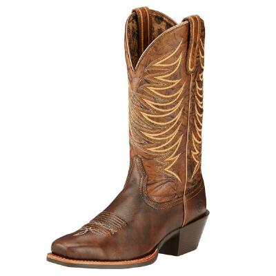 Legend Legacy Brushed Brown Ladies Western Boot