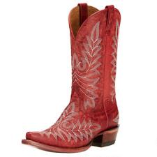 Brooklyn Revel Red Ladies Western Boot