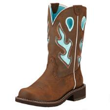 Ariat Fatbaby Heritage Tall Brown Ladies Western Boot