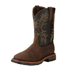 Ariat Workhog Bruin H2O Mens Western Work Boot - TB