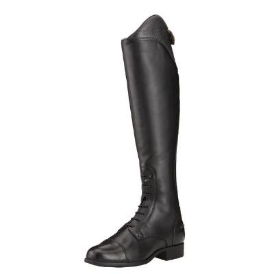 Heritage Ellipse Ostrich Print Ladies Field Boot