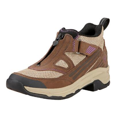 Maxtrak Up Zip Chocolate Ladies Endurance Shoe