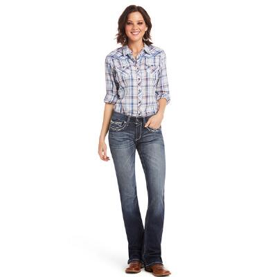 Ariat REAL Boot Cut Entwined Womens Riding Jean