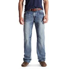 Ariat M4 Low Rise Coltrane Mens Boot Cut Jeans - TB