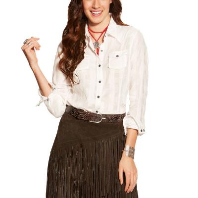 Ariat Buffalo Snap Ladies Western Shirt