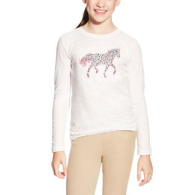 Ariat Embroidered Pony Girls Tee