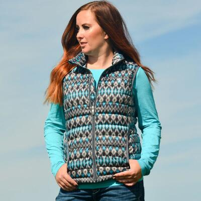 Ariat Ikat Ideal Down Ladies Vest