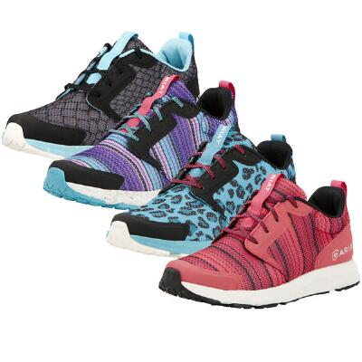 Fuse Grey Snake Ladies Athletic Shoe