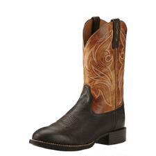 Ariat Heritage Cowpuncher Two-Tone Mens Western Boot