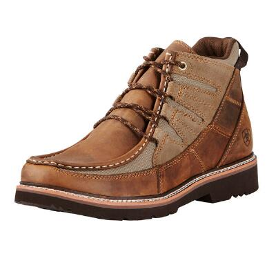 Ariat Exhibitor Distressed Brown Mens Casual Shoe