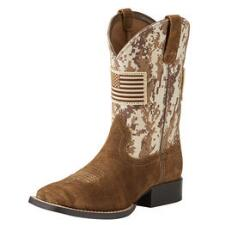 Ariat Patriot Youth Western Boot - TB