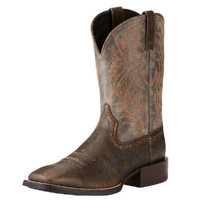 Ariat Sport Brooklyn Brown Mens Western Boot