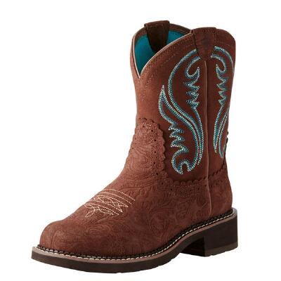 Ariat Fatbaby Heritage Tooled Ladies Western Boot