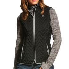 Ariat Ladies Chevron Quilted Ashley Vest - TB