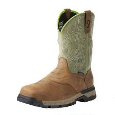 Ariat Rebar Flex H20 Rye Brown Mens Work Boot - TB