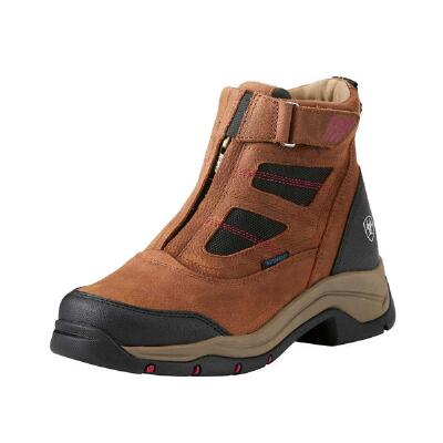 Ariat Terrain Pro H2O Zip Brown Ladies Endurance Shoe