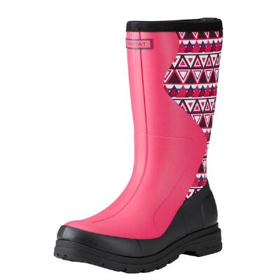 Ariat Springfield Hot Pink Rubber Ladies Mid Boot