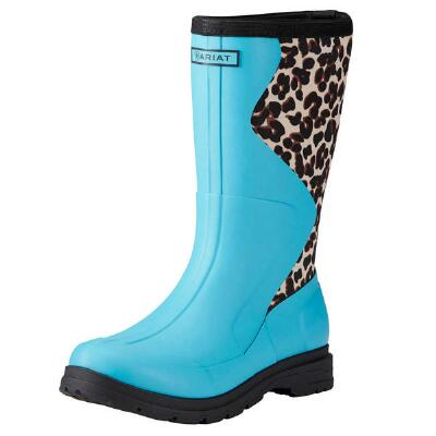 Ariat Springfield Aqua Rubber Ladies Mid Boot