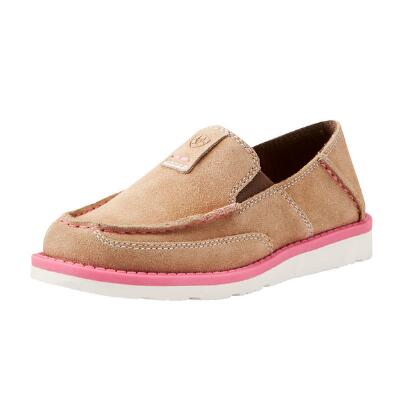 Ariat Cruiser Taupe Suede Girls Casual Shoe