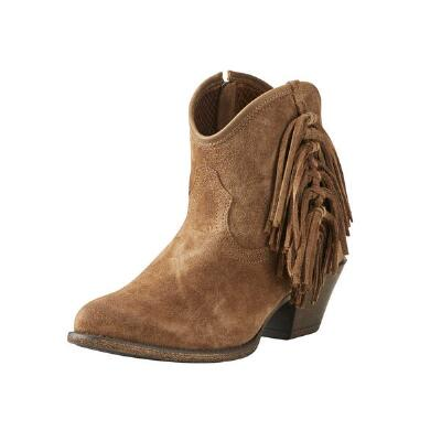 116f844f433e9 Ariat Duchess Suede Ladies Ankle Boot