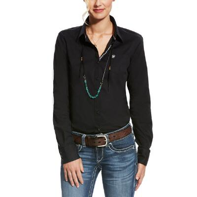 Ariat Kirby Solid Stretch Ladies Western Shirt
