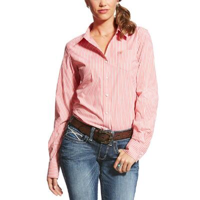 Ariat Kirby Stripe Stretch Ladies Western Shirt