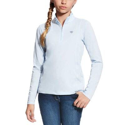 Ariat Sunstopper Blue Cloud Youth Show Shirt