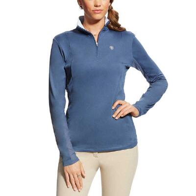 Ariat Sunstopper Quarter Zip Ladies Schooling Shirt