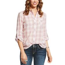 Ariat Zoey Plaid Ladies Western Shirt - TB