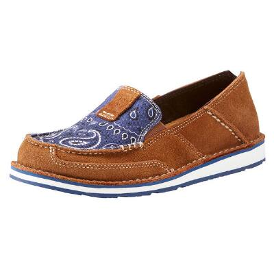 Ariat Cruiser Blue Paisley Ladies Casual Shoe