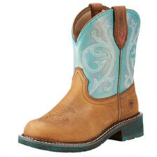 Ariat Fatbaby Heritage Shimmer Ladies Western Boot - TB