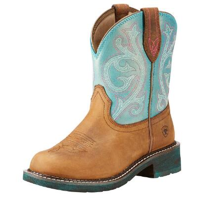 Ariat Fatbaby Heritage Shimmer Ladies Western Boot