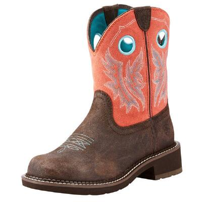 Ariat Fatbaby Heritage Cowgirl Chocolate Ladies Western Boot