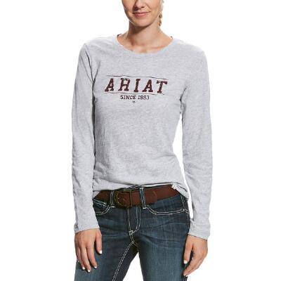 Ariat Logo Long Sleeve Ladies Tee