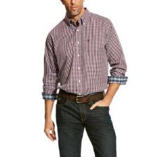 Ariat Zelinger Plaid Mens Western Shirt - TB