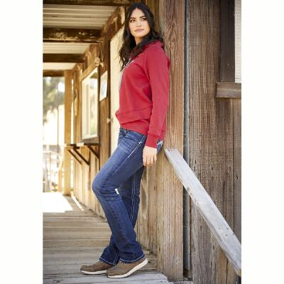 Ariat REAL Ivy Stretch Stackable Straight Leg Ladies Jean