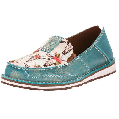 Ariat Desert Rose Turquoise Shimmer Ladies Cruiser