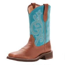 Ariat Fatbaby Prim Rose Pebble Brown Ladies Western Boot - TB
