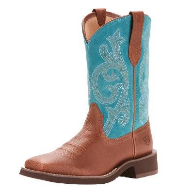 Ariat Fatbaby Prim Rose Pebble Brown Ladies Western Boot