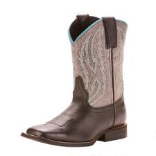 Ariat Relentless Unrivaled Youth Black Jag Western Boot - TB
