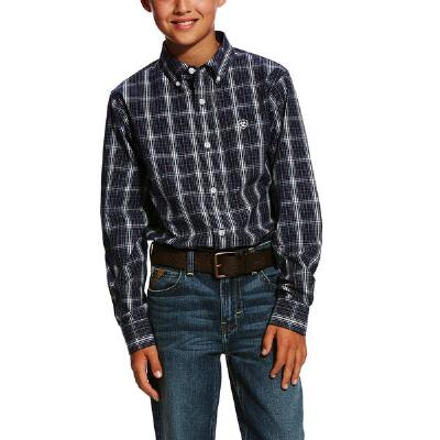 Ariat Daytona Performance Boys Western Shirt