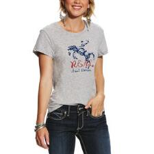 Ariat REAL Rider Short Sleeve Ladies Tee - TB