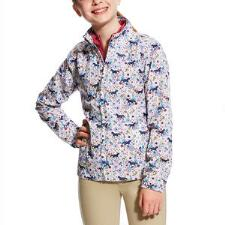 Ariat Avery Pony Print Girls Jacket - TB